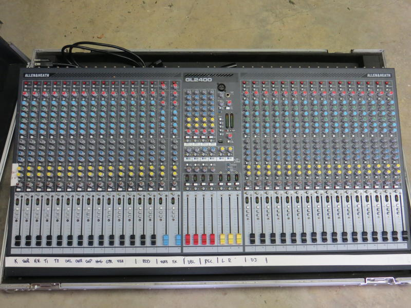 Allen and Heath Mixing Board